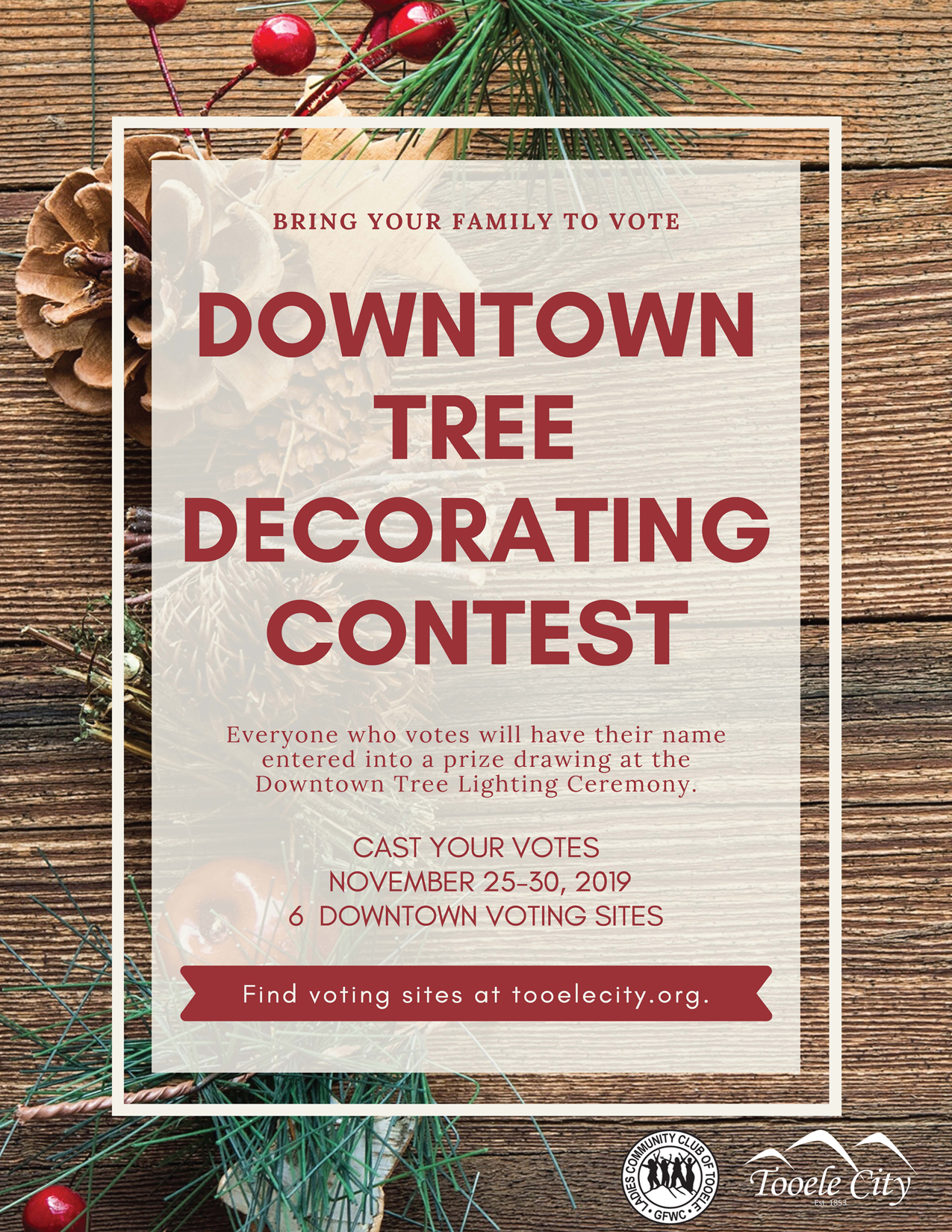 Downtown Tree Decorating Contest 2019