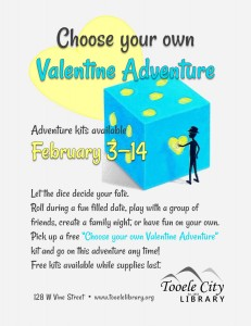 Choose Your Own Valentine Adventure @ Tooele City Library | Tooele | Utah | United States