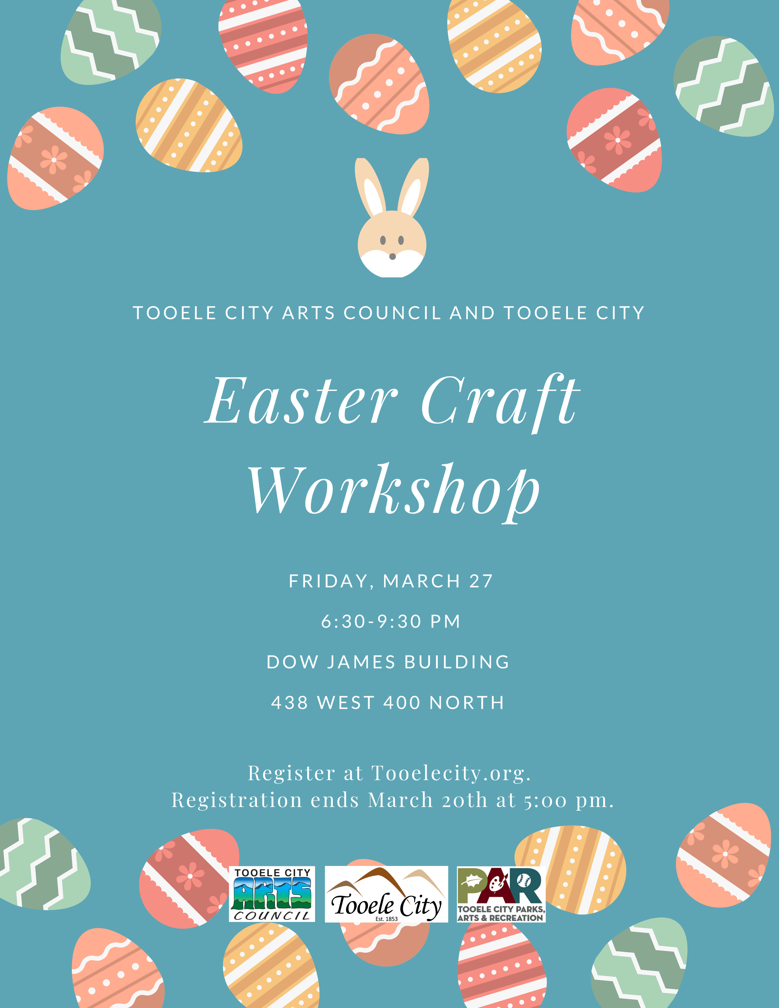Easter Craft Workshop - CANCELLED @ Dow James Building | Tooele | Utah | United States