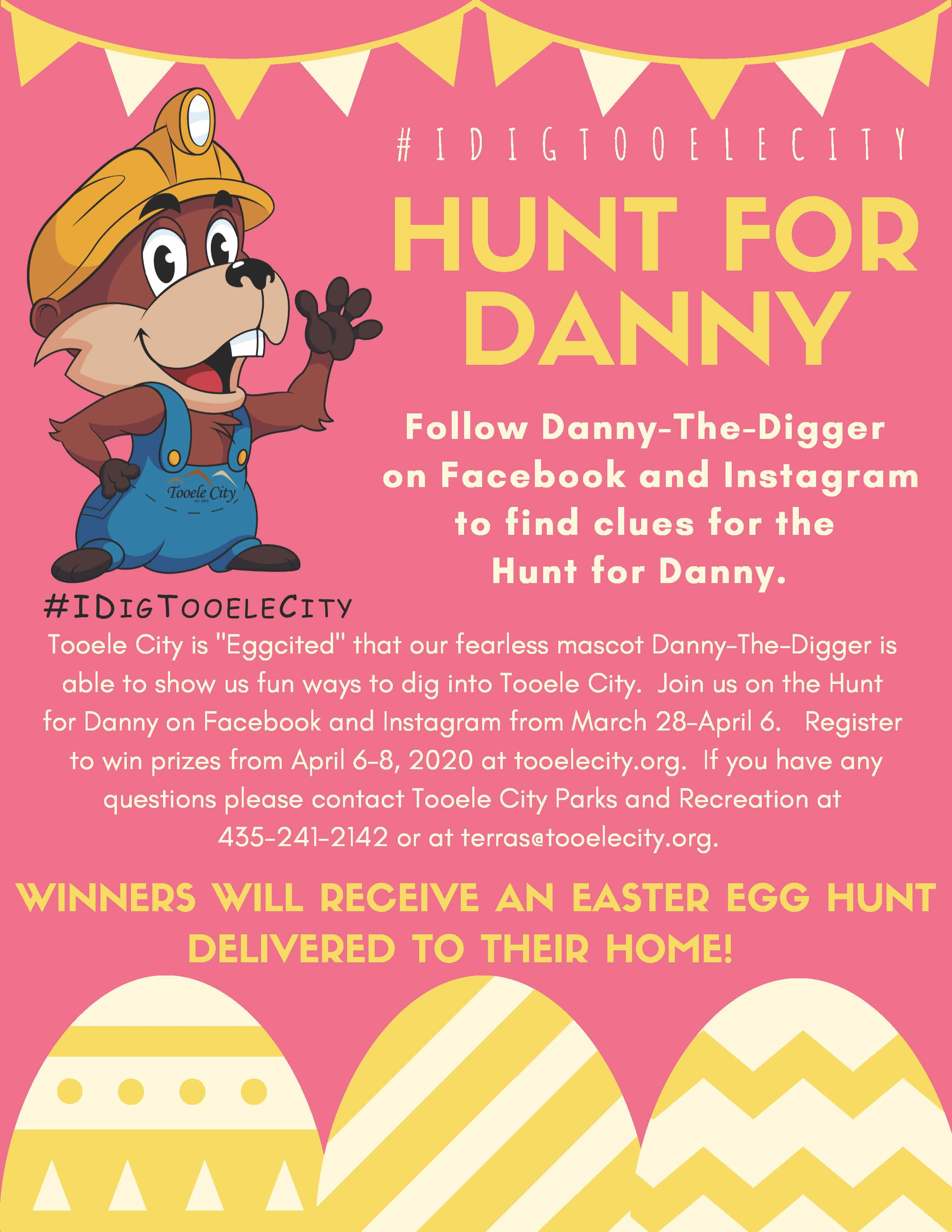 Hunt for Danny-The-Digger @ Facebook and Instagram | Tooele | Utah | United States