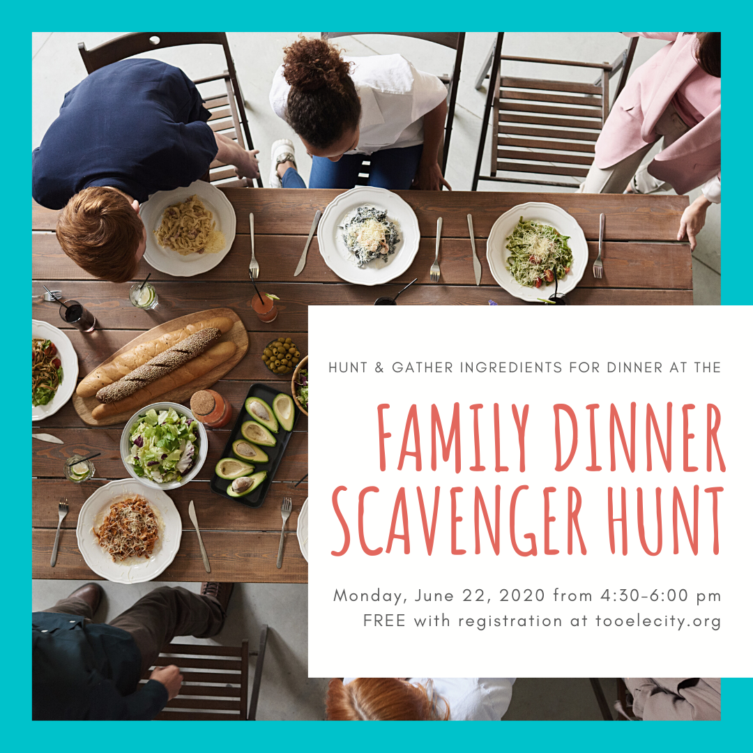 Family Dinner Scavenger Hunt @ Tooele | Utah | United States