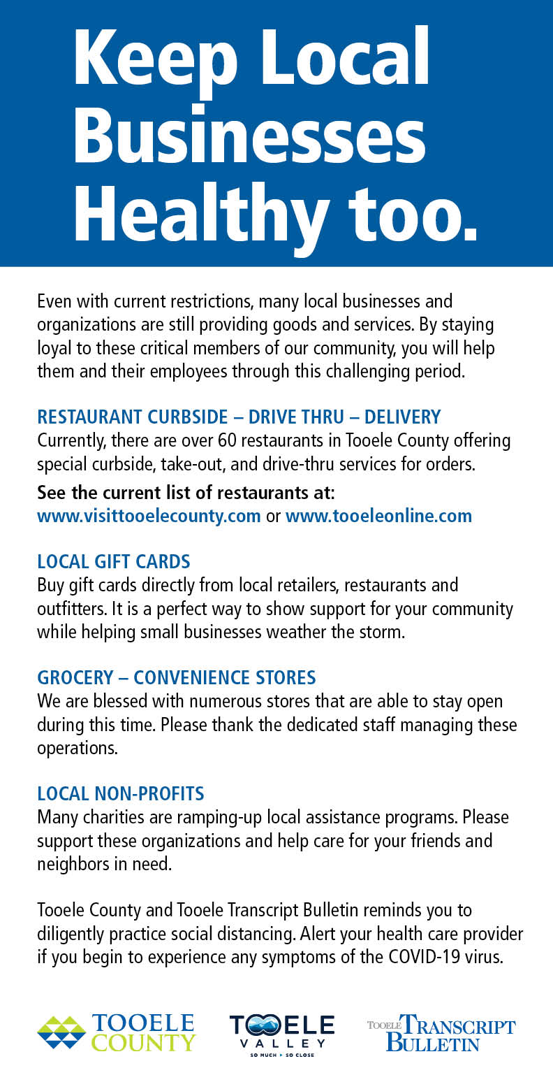 Keep Local Businesses Healthy Too 2020