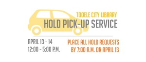 Library Hold Pick Up @ Tooele City Library | Tooele | Utah | United States