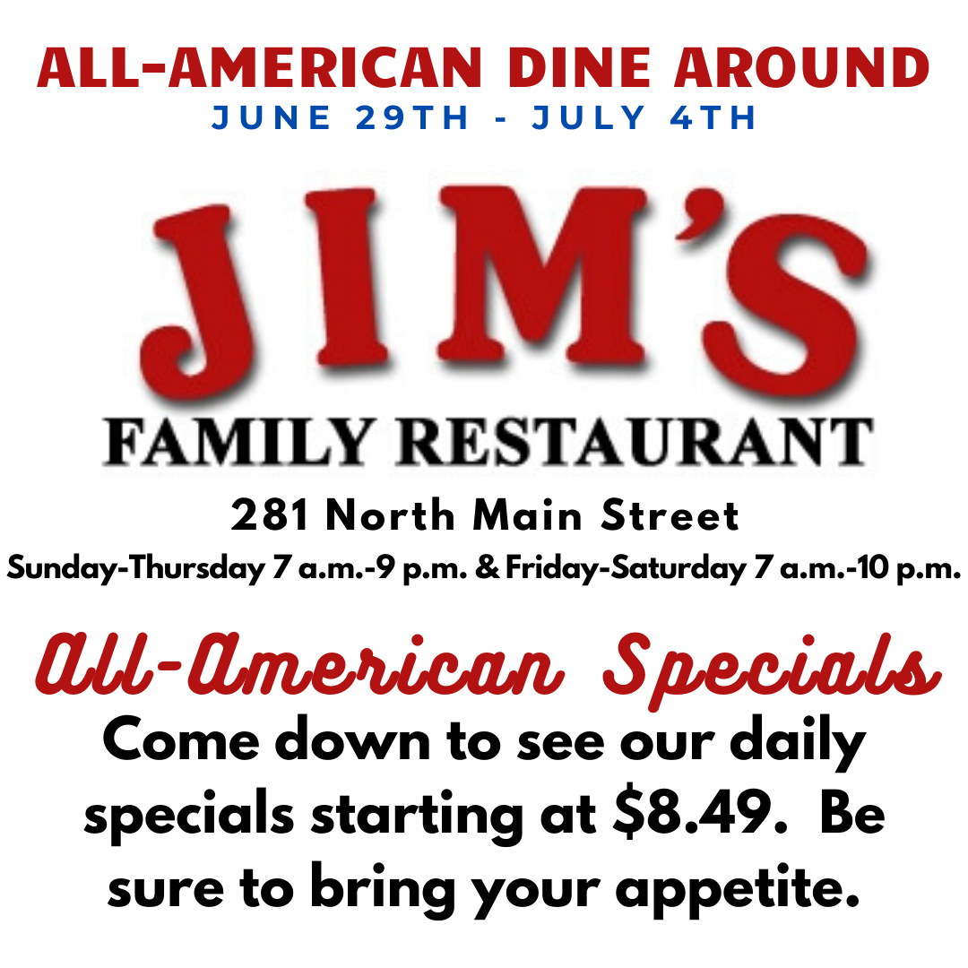 Jim's Family Restaurant - All American Special