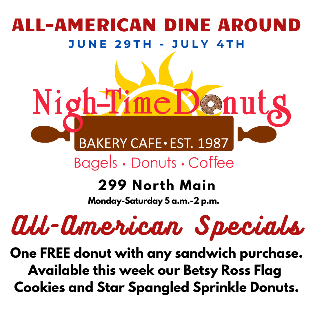 Nigh-Time Donuts - All American Special