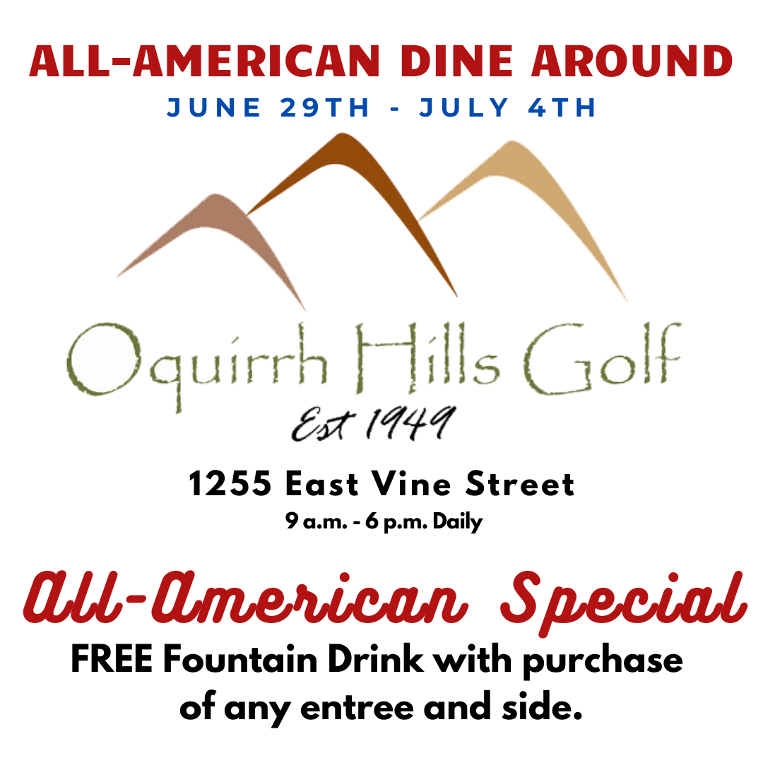 Oquirrh Hills Golf Cafe - All American Special