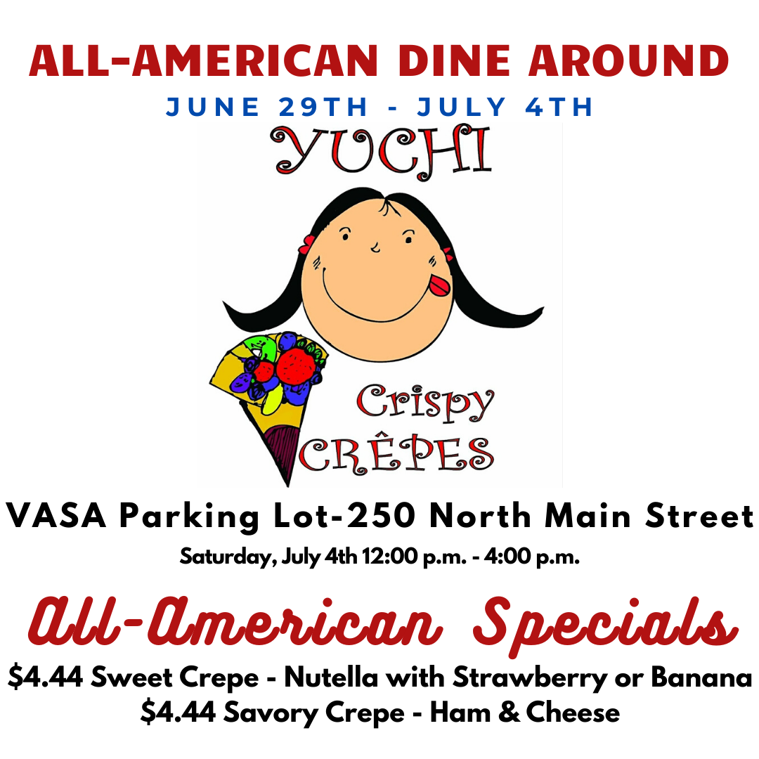 Yuchi Crispy Crepes - All American Special