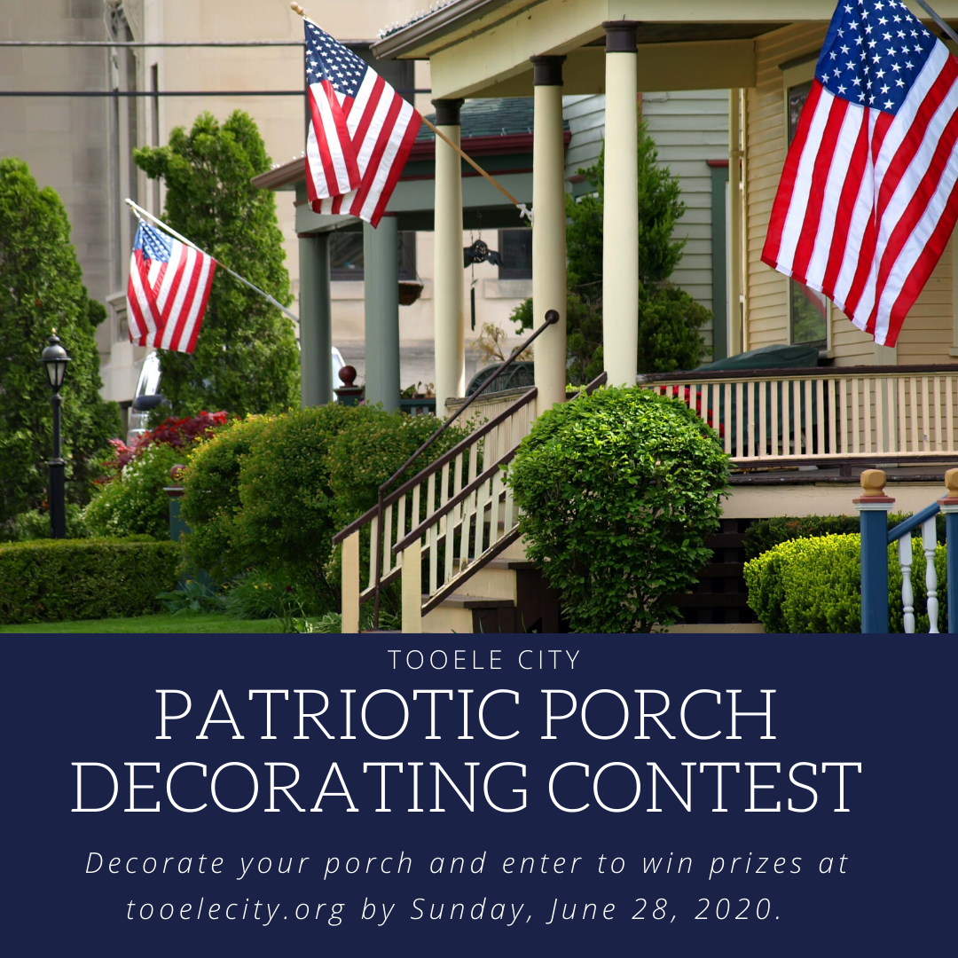 Patriotic Porch Decorating Contest 2020