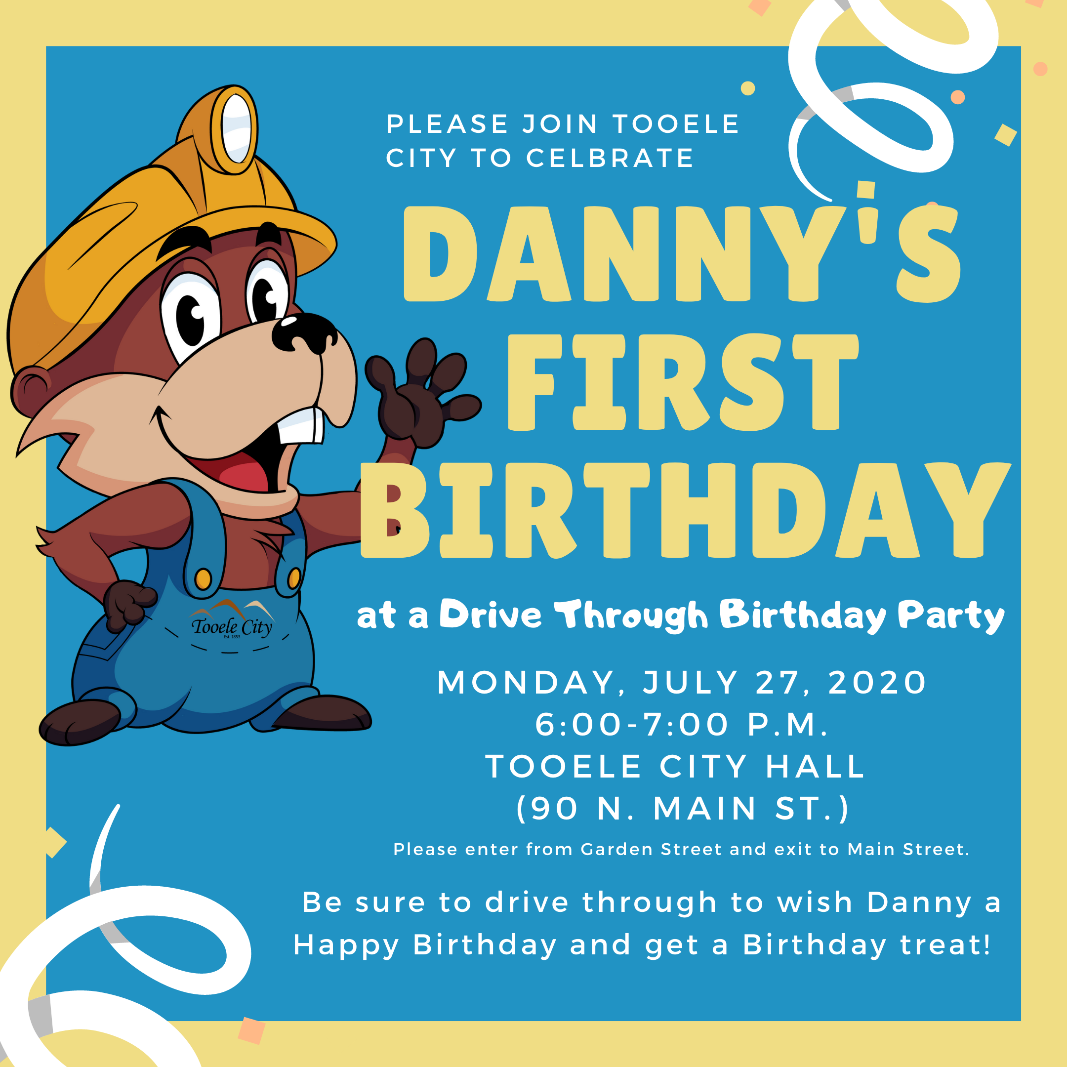 Danny's First Birthday @ Tooele City Hall