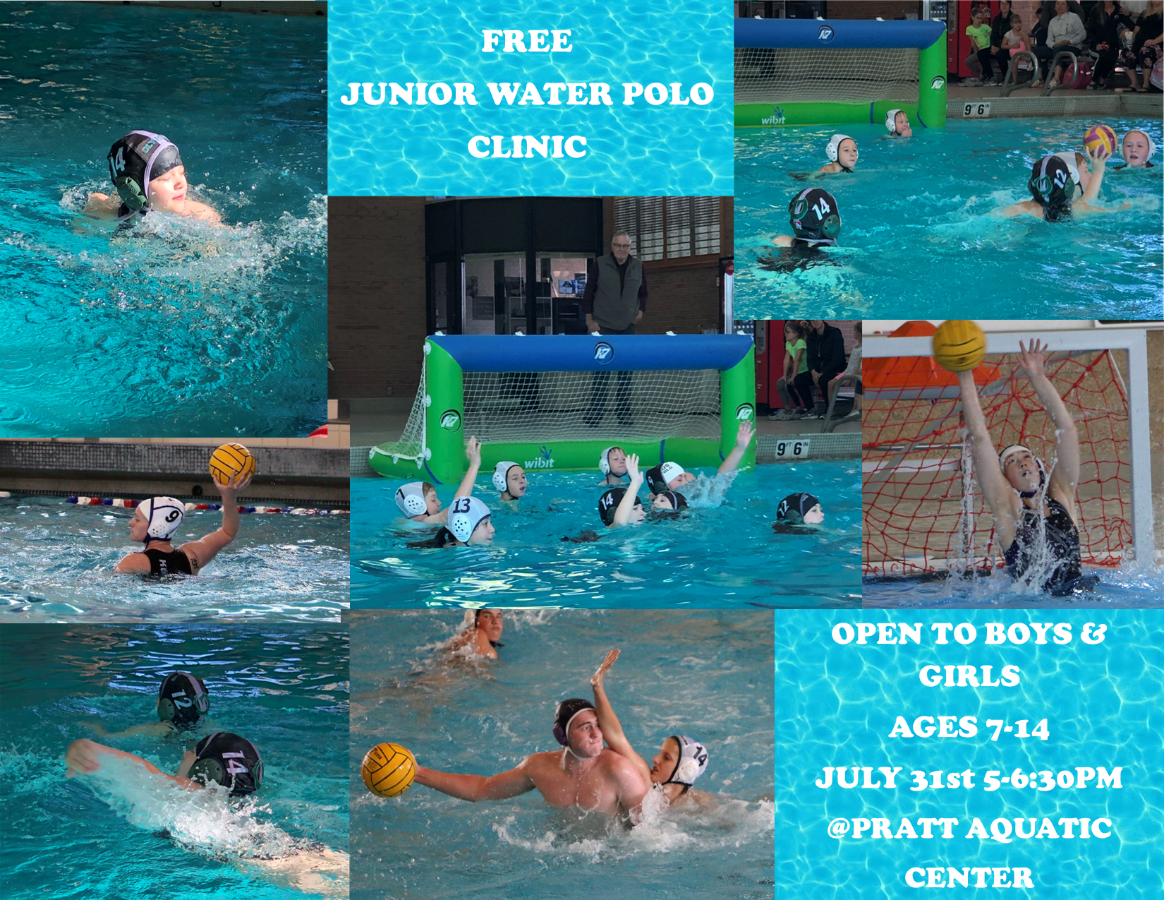 Free Junior Water Polo Clinic