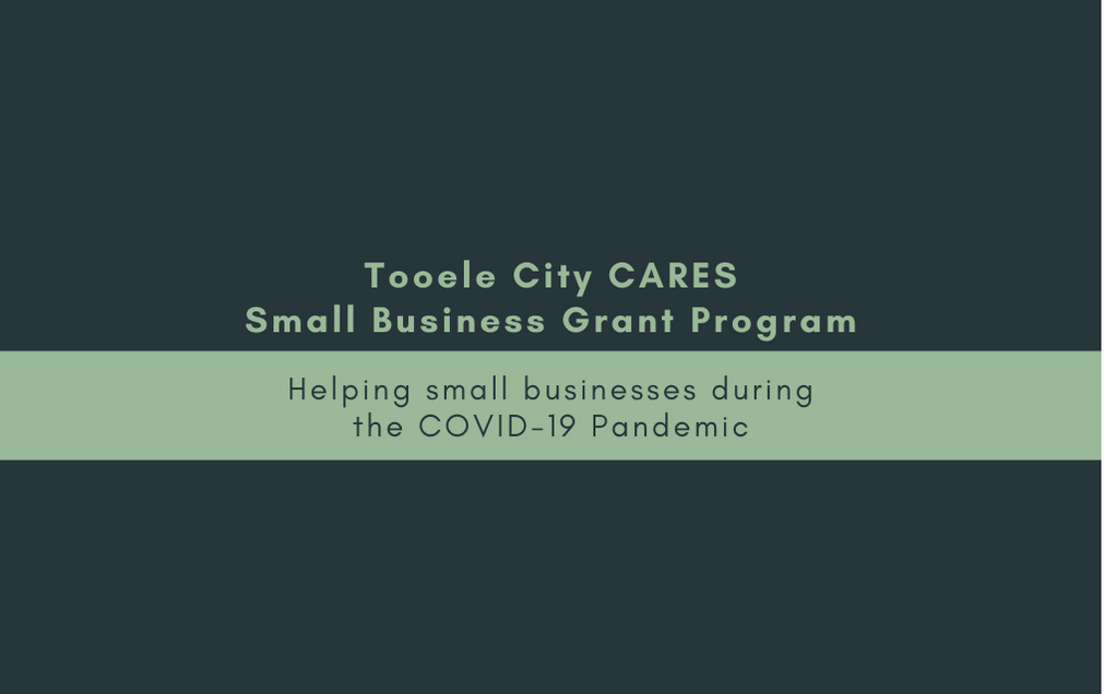 Tooele City CARES Small Business Grant Program