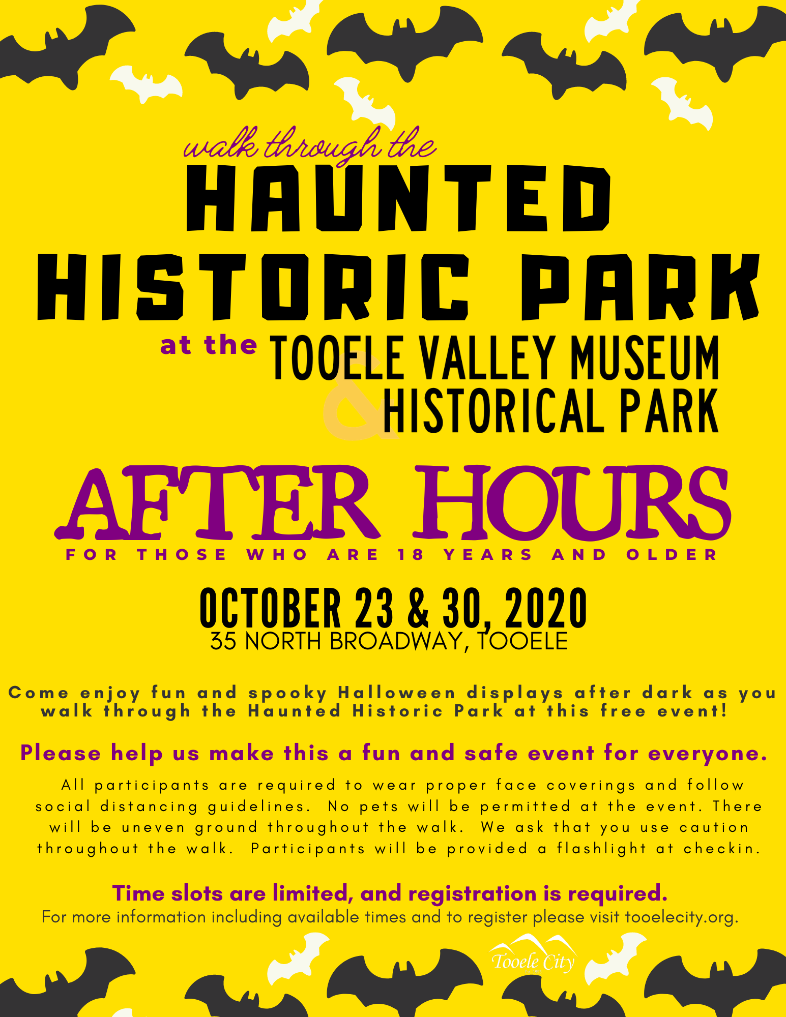 Haunted Historic Park 2020 - After Hours