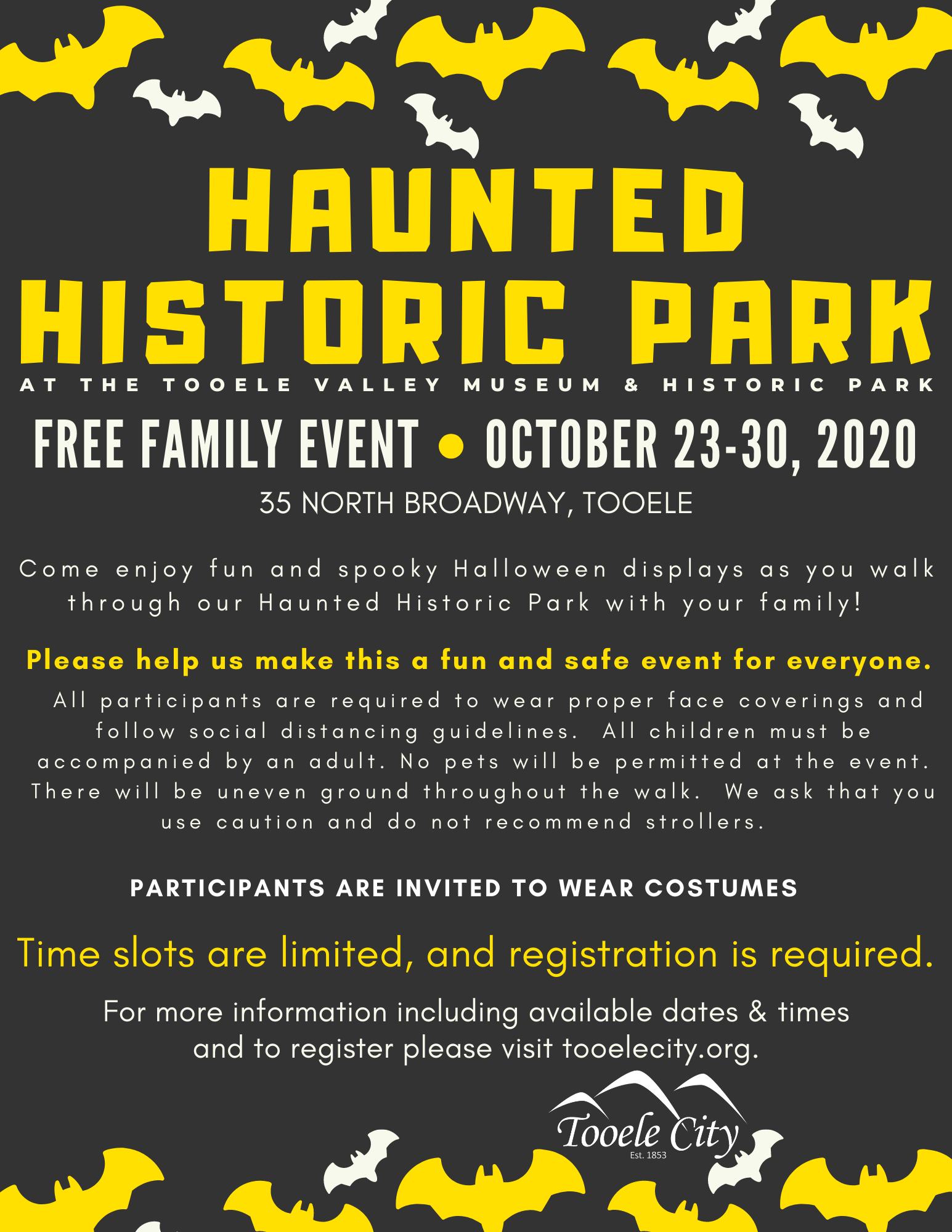 Haunted Historic Park 2020