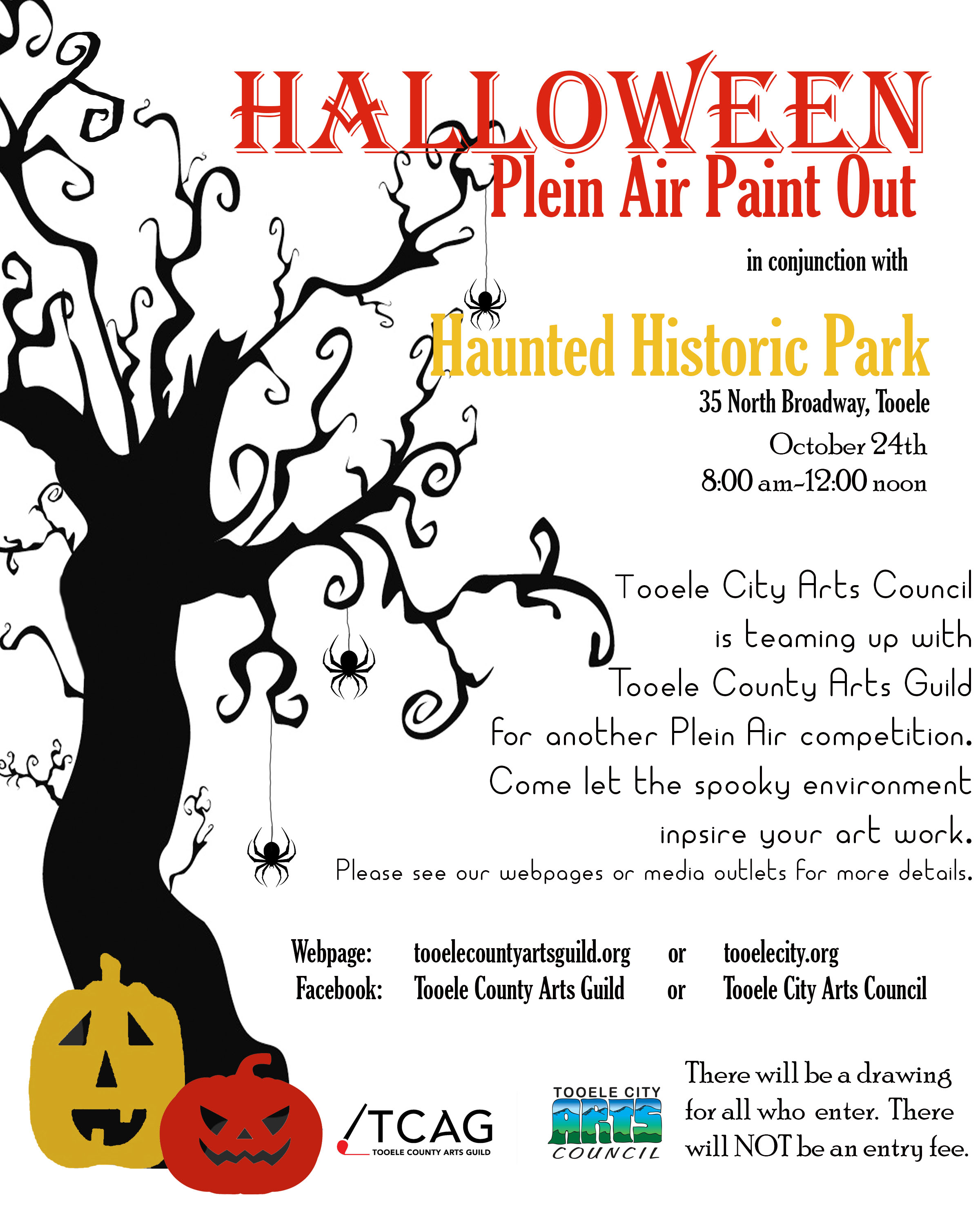 Halloween Plein Air 2020