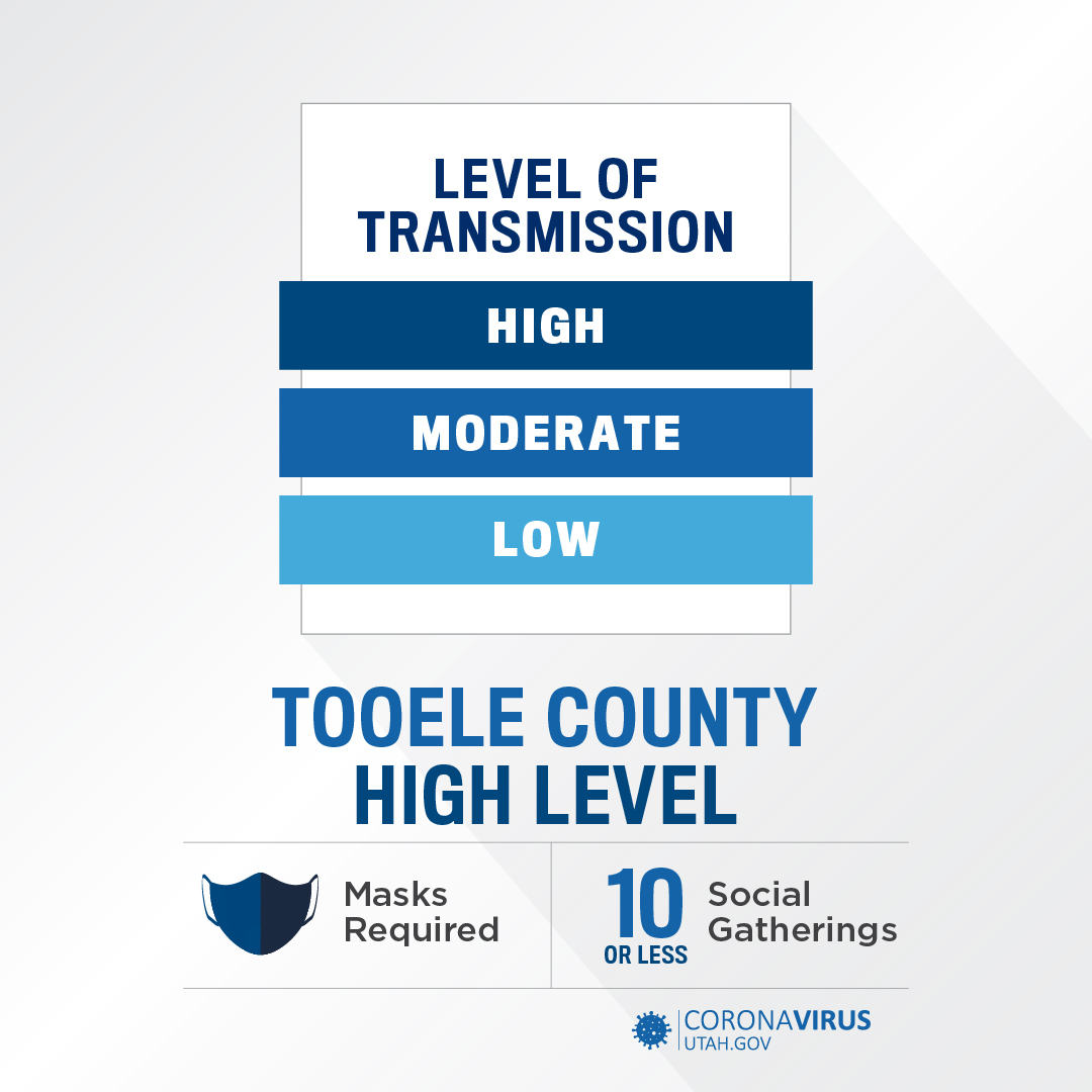 Tooele County High Transmission Level 10-22-2020