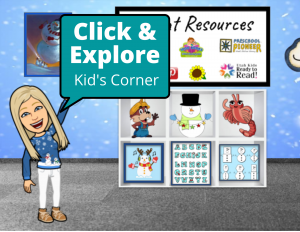 January Virtual Space for Kids