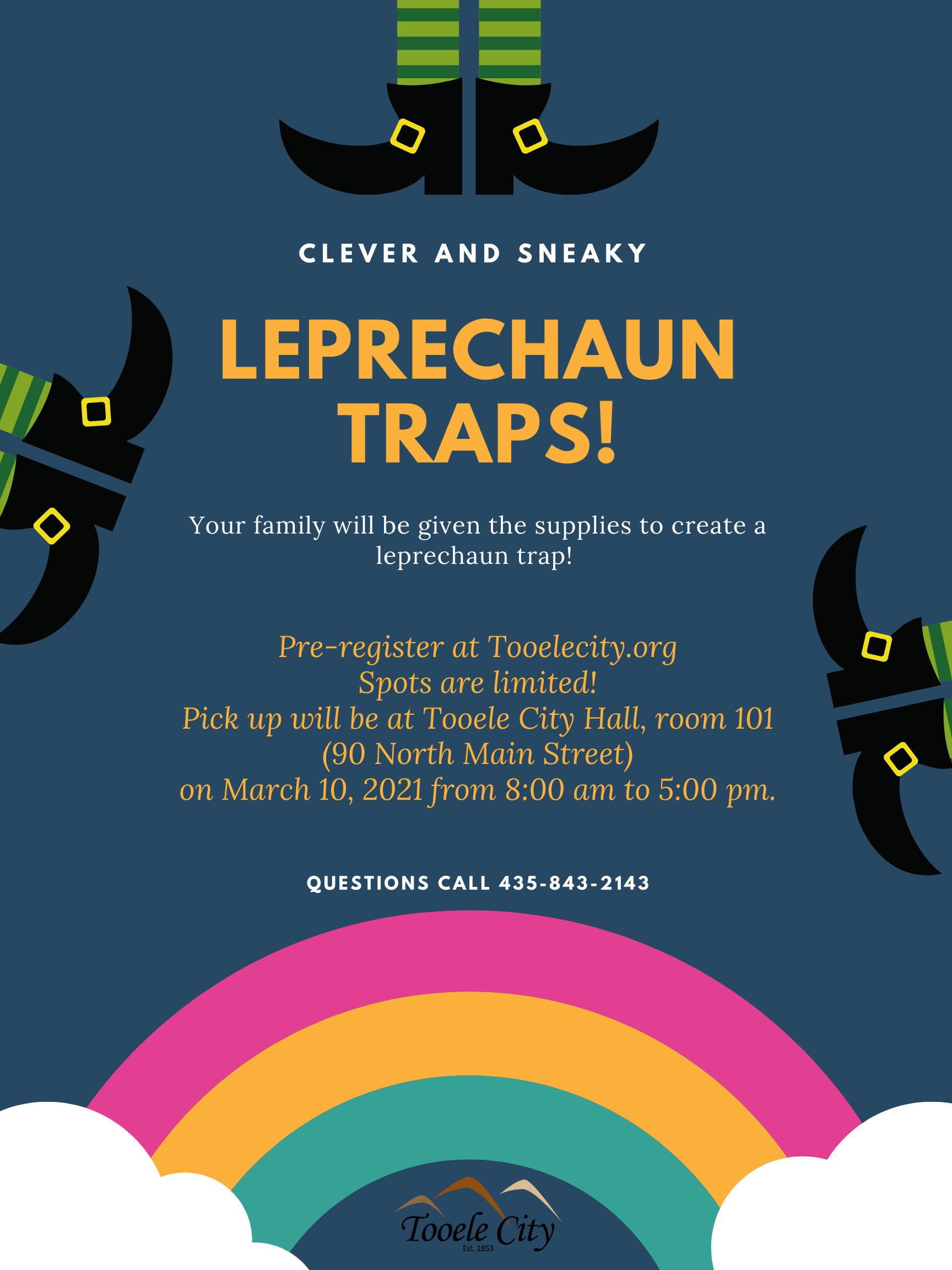 Leprechaun Traps! (Family Activity) @ Tooele City Hall | Tooele | Utah | United States