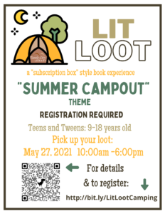 Lit Loot Pick Up (Teens & Tweens) @ Pick Up - Tooele City Library | Tooele | Utah | United States