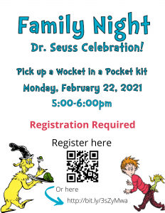 Dr. Seuss Celebration (Virtual Family Event) @ Online - Tooele City Library | Tooele | Utah | United States