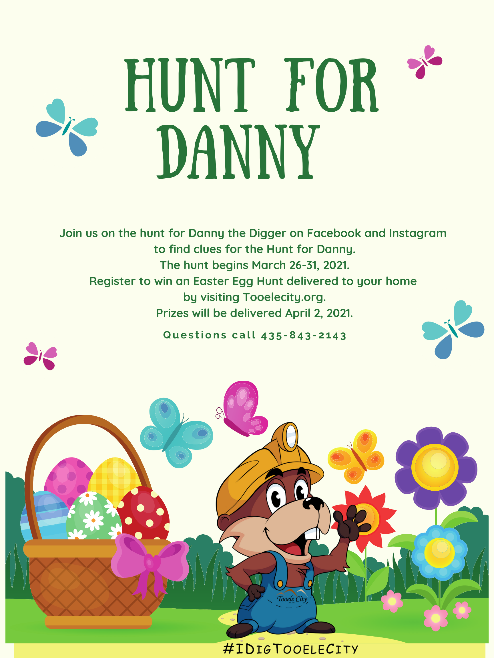 Hunt for Danny 2021 (Free Family Activity) @ Facebook and Instagram | Tooele | Utah | United States